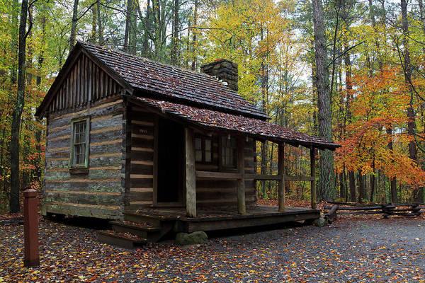 Photograph - Log House by Jill Lang
