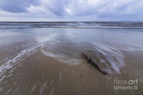 Port St. Joe Photograph - Log On Beach In Cape San Blas by Twenty Two North Photography