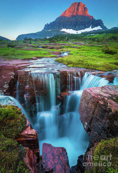 Triples Photograph - Logan Pass Abyss by Inge Johnsson