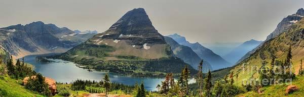 Wall Art - Photograph - Logan Pass Hidden Lake Panorama by Adam Jewell
