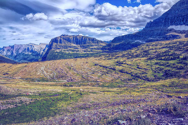 Photograph - Logan Pass Perspective by John M Bailey