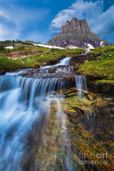 Photograph - Logan Pass Stormclouds by Inge Johnsson