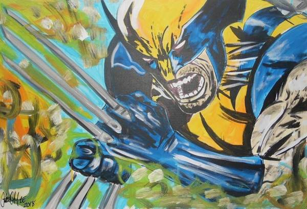 Painting - Logan Time by Antonio Moore