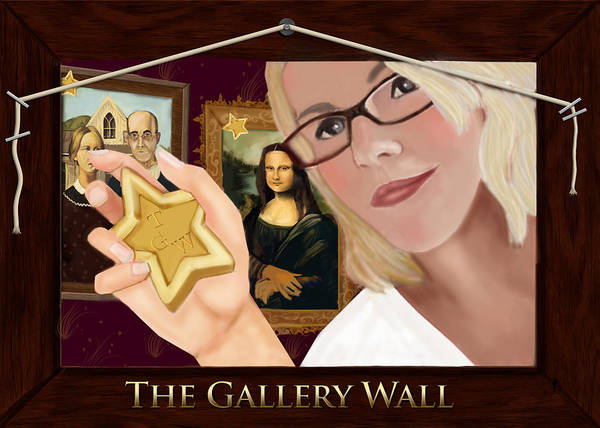 Logos Painting - Logo For The Gallery Wall  by Maggie Terlecki