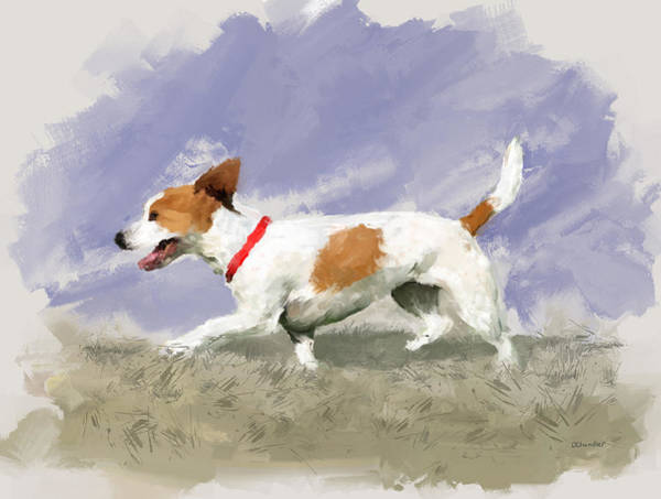 Painting - Lola by Diane Chandler