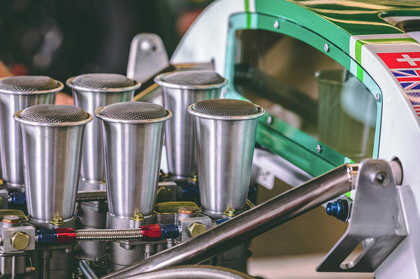 David Weber Photograph - Lola T70 Engine Bay by David Natho