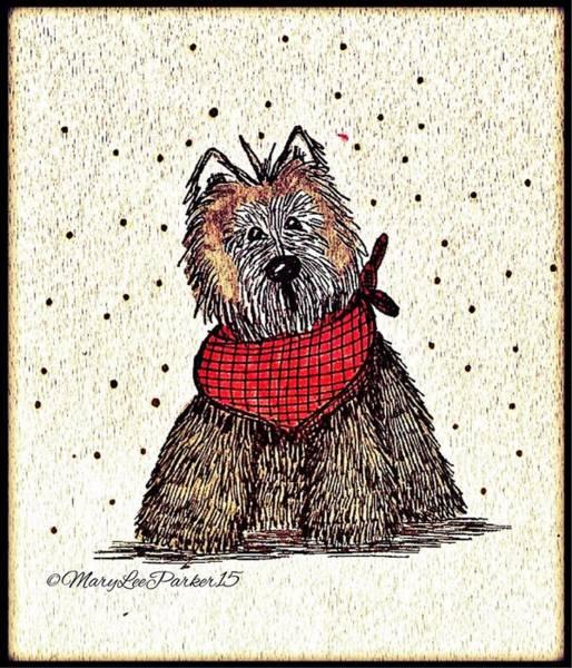 Lola The Dog Art Print