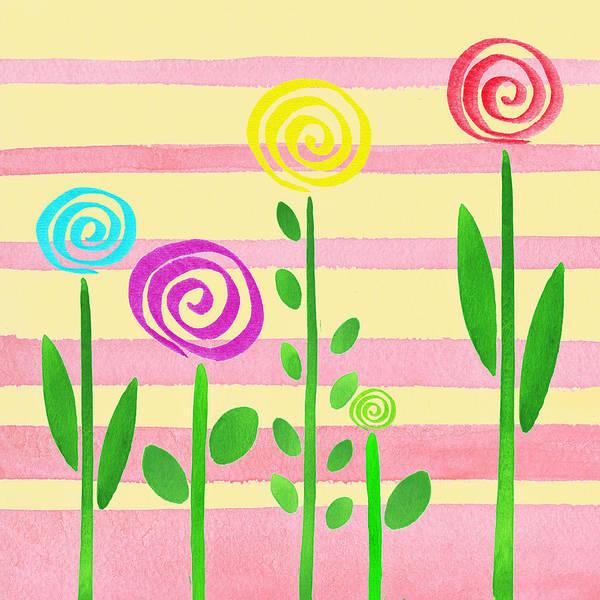Painting - Lollipop Garden by Irina Sztukowski
