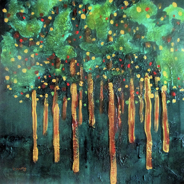 Painting - Lollipop Trees by Valerie Anne Kelly