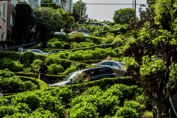 Photograph - Lombard Street by Stuart Manning