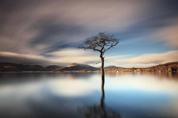 Photograph - Lomond Reflection by Grant Glendinning
