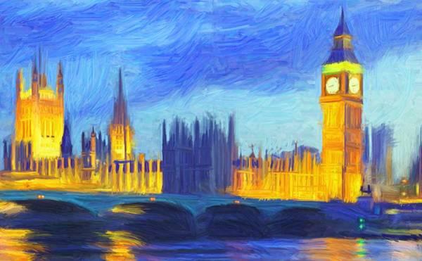 London 1 Art Print