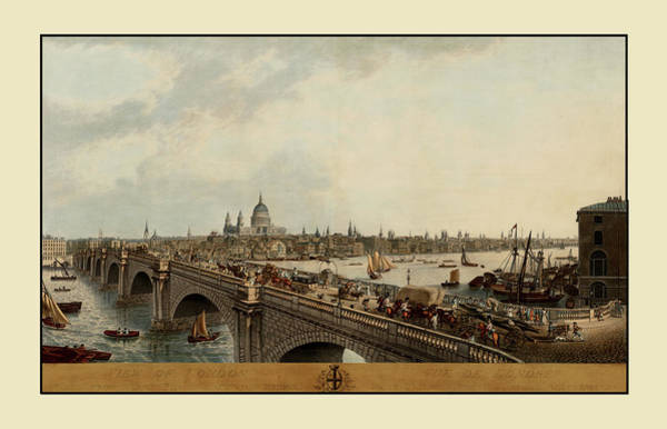 Photograph - London 1802 by Andrew Fare