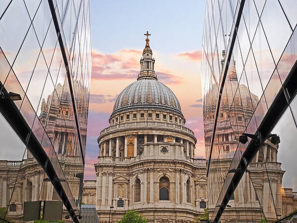 Photograph - London Awakes - St. Pauls Cathedral by Gill Billington