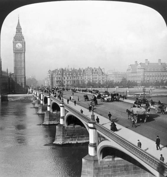 Photograph - London: Big Ben by Granger