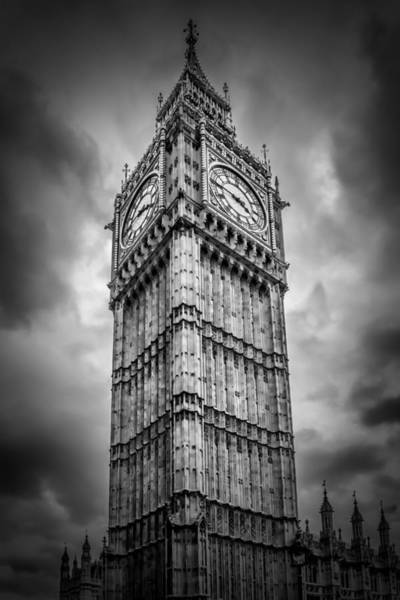 Wall Art - Photograph - London Big Ben by Melanie Viola