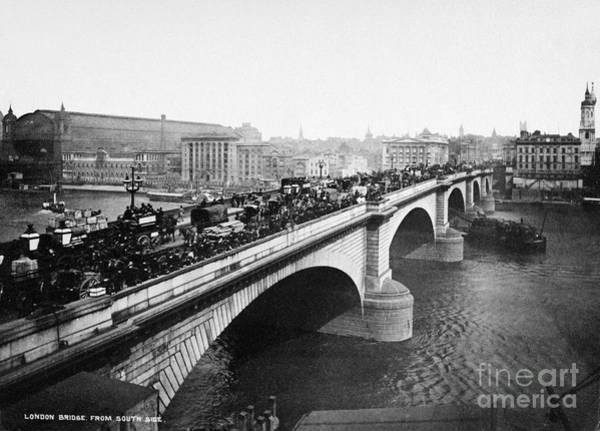 Painting - London Bridge, C1900 by Granger