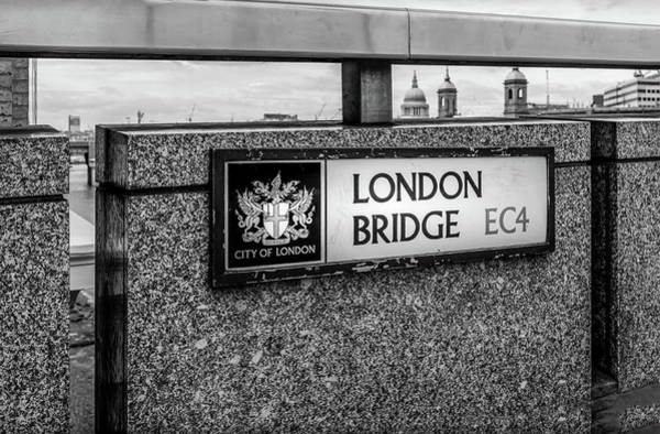 Capital Of Georgia Photograph - London Bridge by Georgia Fowler