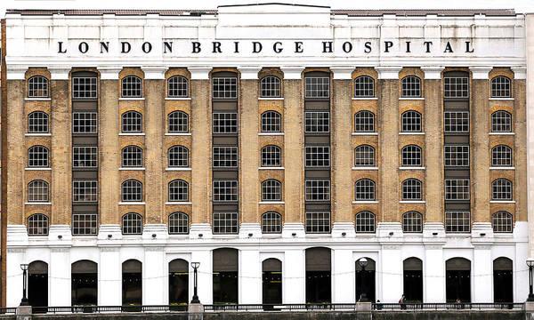 Photograph - London Bridge Hospital by Andrew Fare