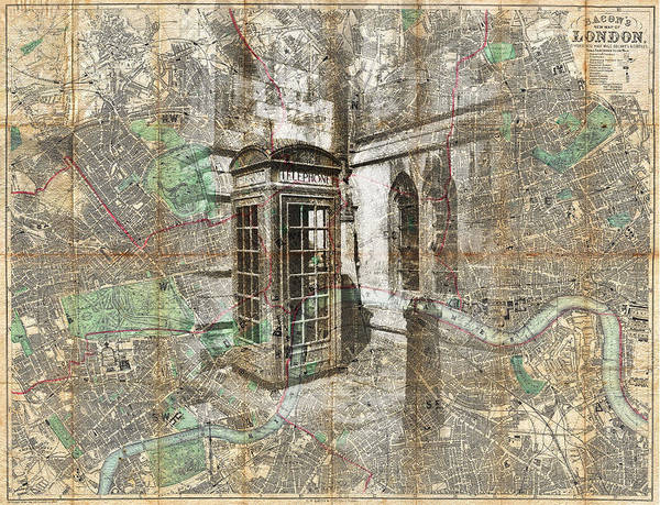 Photograph - London Called by Sharon Popek