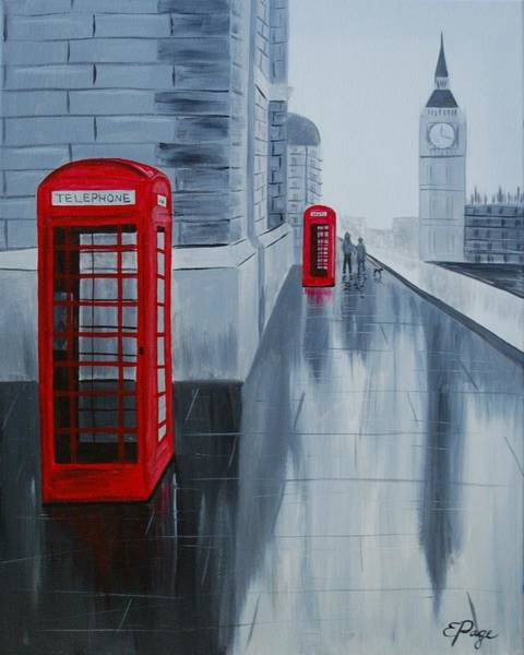 Painting - London Calling by Emily Page