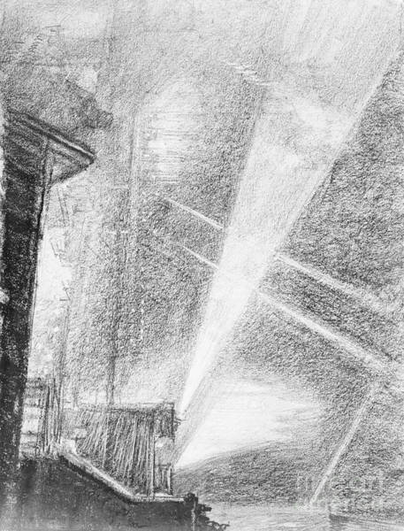 Beam Drawing - London, Charing Cross.  by Granger