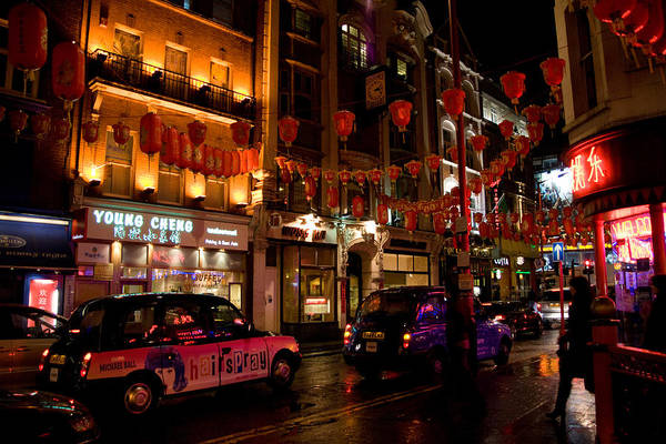 Chinese New Year Photograph - London Chinatown by Peter Verdnik