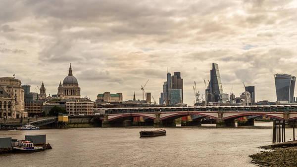 Photograph - London Cityscape by Jacek Wojnarowski