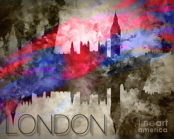 Photograph - London by Edmund Nagele