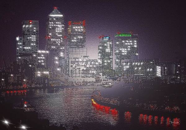 Painting - London Etched by Mark Taylor