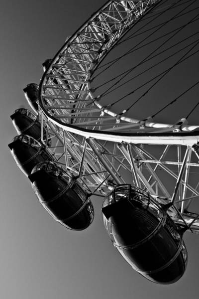Southbank Photograph - London Eye by David Pyatt