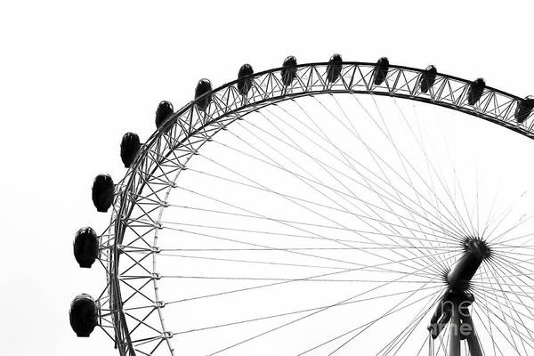 London Eye Photograph - London Eye by Erik Brede
