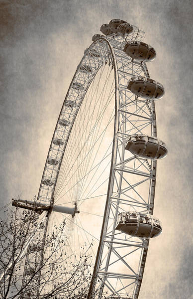 Photograph - London Eye IIi by Joan Carroll