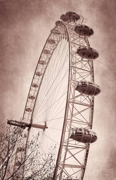 Photograph - London Eye Iv by Joan Carroll