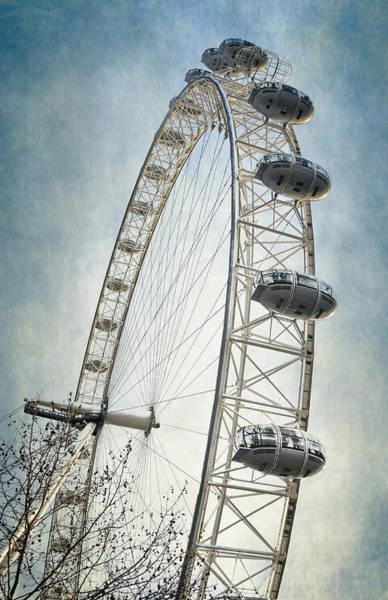 Photograph - London Eye by Joan Carroll