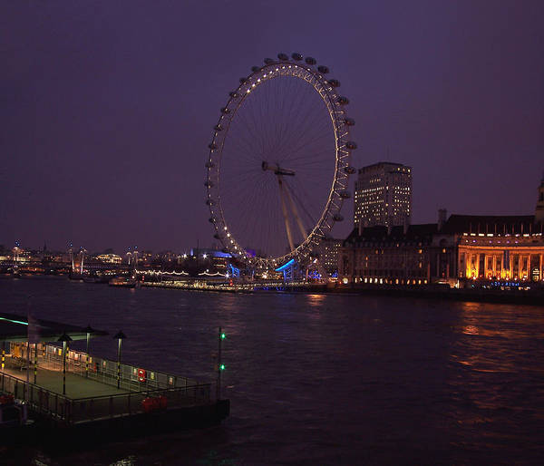 Photograph - London Eye by Paul and Janice Russell