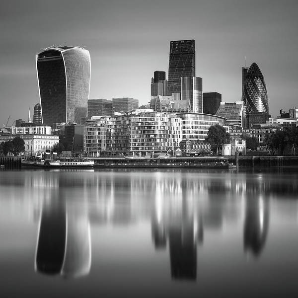 District Wall Art - Photograph - London Financial District by Ivo Kerssemakers