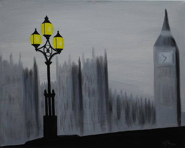Painting - London Fog by Emily Page
