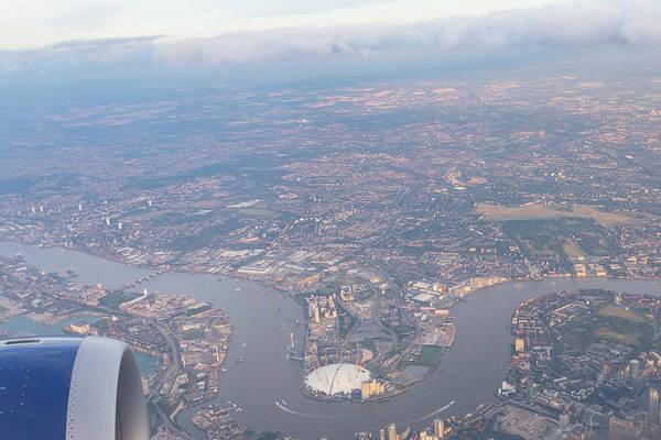 Wall Art - Photograph - London From The Air by David Pyatt