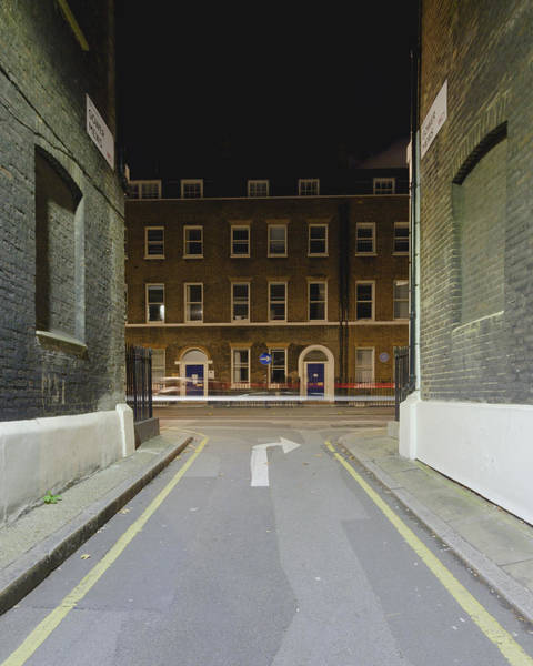 Photograph - London Gower Mews By Night B by Jacek Wojnarowski