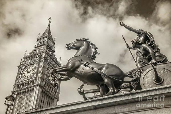 Wall Art - Photograph - London Guardians by Stacey Granger