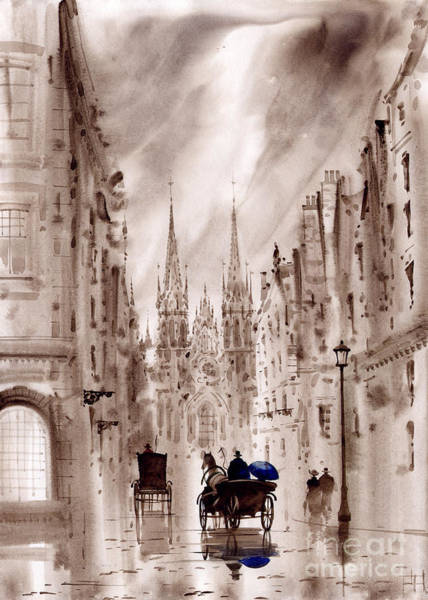 Wall Art - Painting - London IIi by Svetlana and Sabir Gadghievs