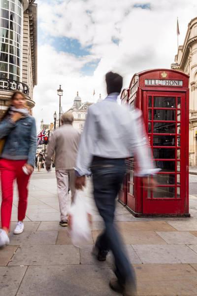 Photograph - London In Motion by Jacek Wojnarowski