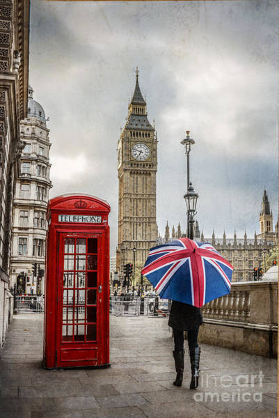 Wall Art - Photograph - London Lady by Stacey Granger