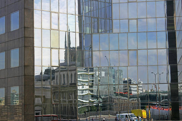 Photograph - London Reflections by Tony Murtagh