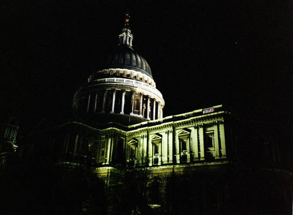 Photograph - London Saint Paul's Cathedral 1 1996 by Erik Paul