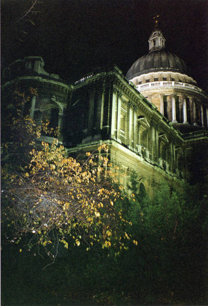 Photograph - London Saint Pauls Cathedral 2 1996 by Erik Paul