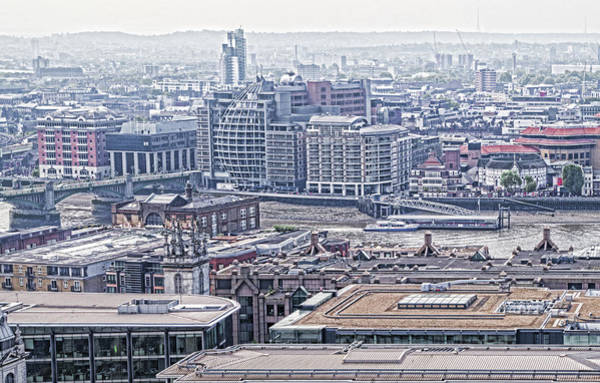 Photograph - London Skyline by Sharon Popek