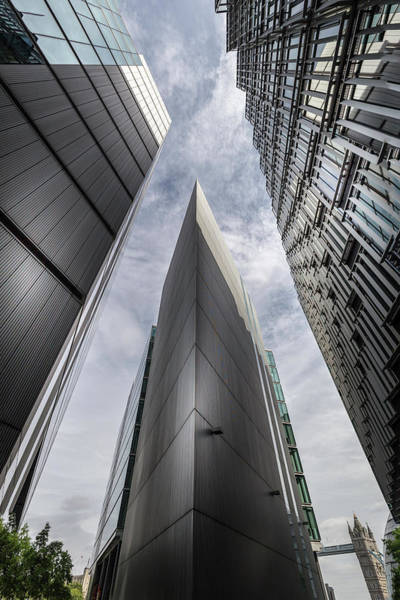 Photograph - London Skyscrapers by Georgia Fowler
