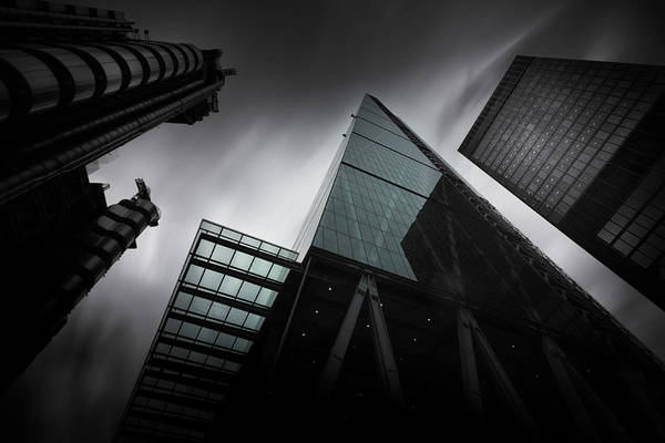 Wall Art - Photograph - London Skyscrapers by Ian Hufton